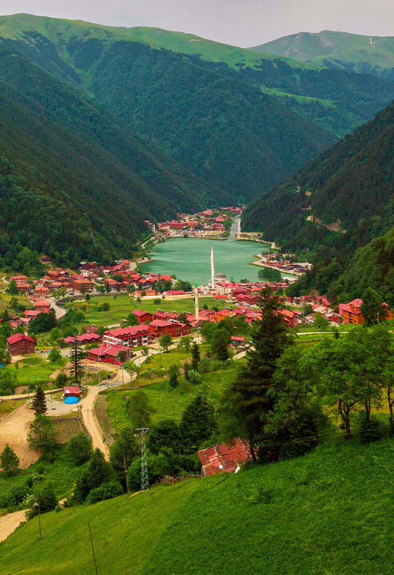 7-day package tour in Trabzon (including flying from Muscat)