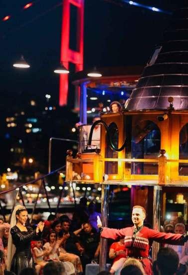 Bosphorus Night Crouse Boat Tour