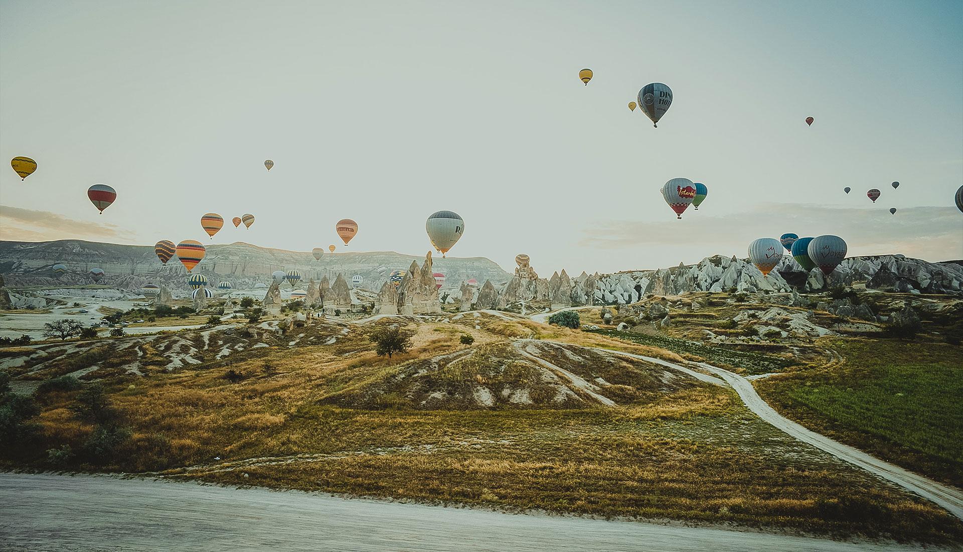 Cappadocia Hot Air Balloon Flight - Rozana Tours Luxury holiday package