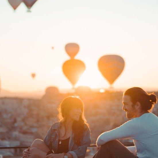 Travel to Turkey, Cappadocia Hot Air Balloon Flight - Rozana Tours Luxury holiday package