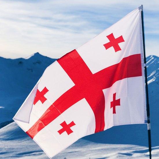 علم جورجيا