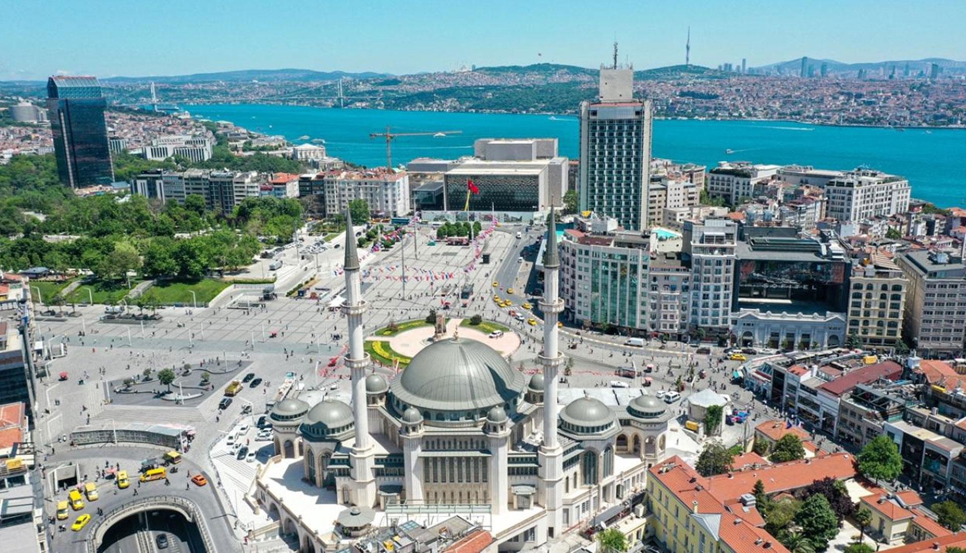 Istanbul Taksim Mosque
