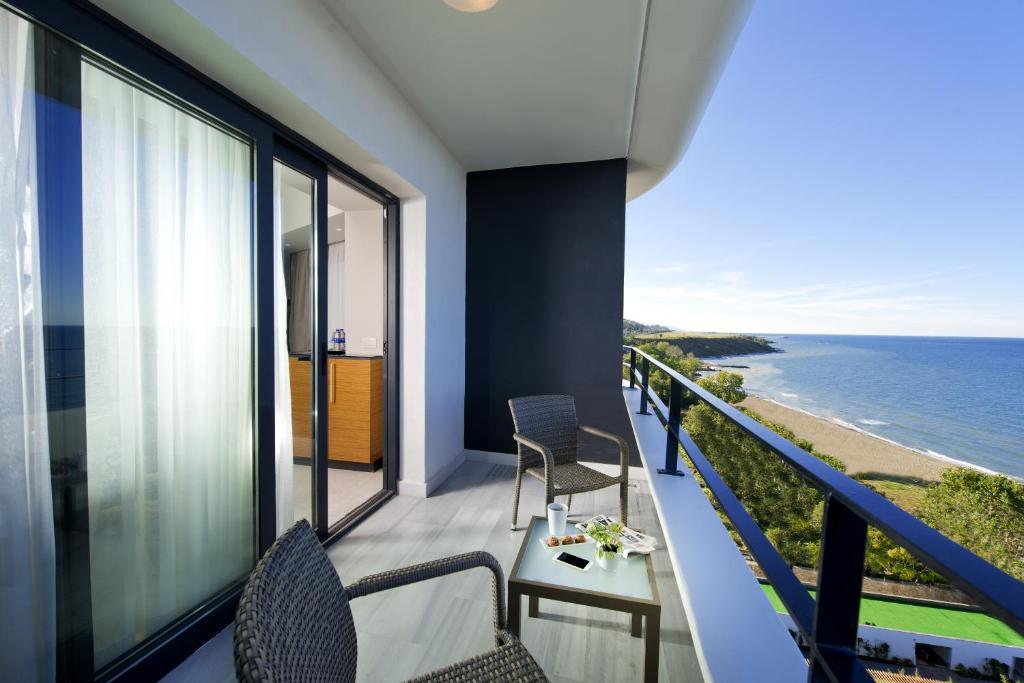 غرفة ديلوكس مطلة على البحر