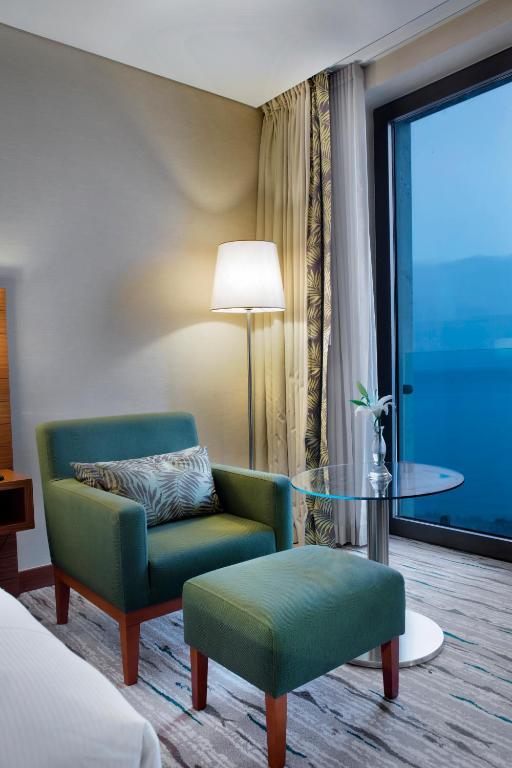 غرفة كينغ مع اطلالة على البحر