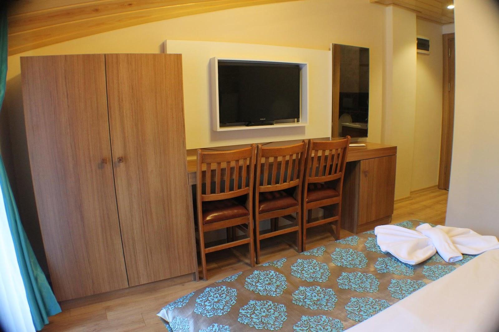 غرفة قياسية مزدوجة أو توأم مع شرفة